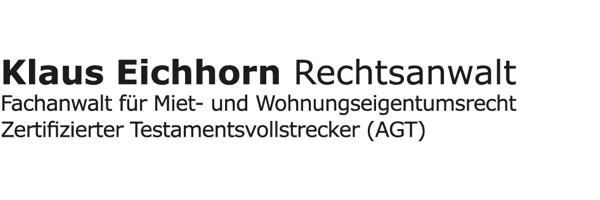 Klaus Eichhorn | Rechtsanwalt | Fachanwalt für Mit- und WEG-Recht | Essen
